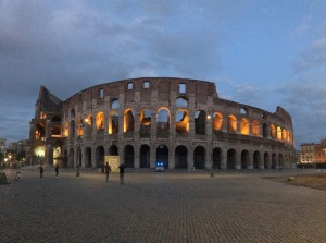 Banner image for EuFMD FAST meeting - The Coliseum at night, lit up