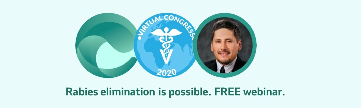 Webinar banner image containing emergence logo, Virtual Congress 2020 logo and headshot of Sergio Recuenco